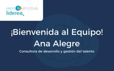 Entrevista a Ana Alegre, nueva incorporación a Grupo Emotiva-Liderea